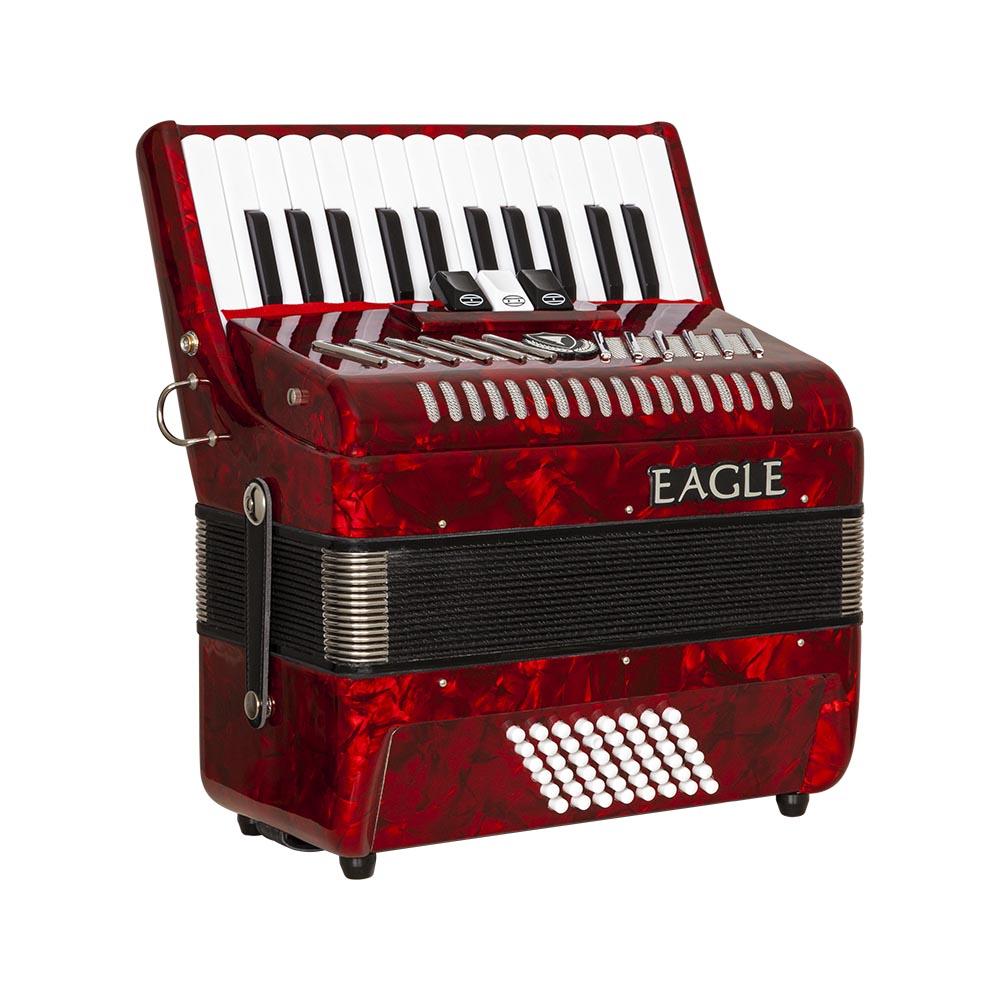 acordeom 48 baixos 3 registros eagle ega0348 prd vermelho perolizado frontal copy
