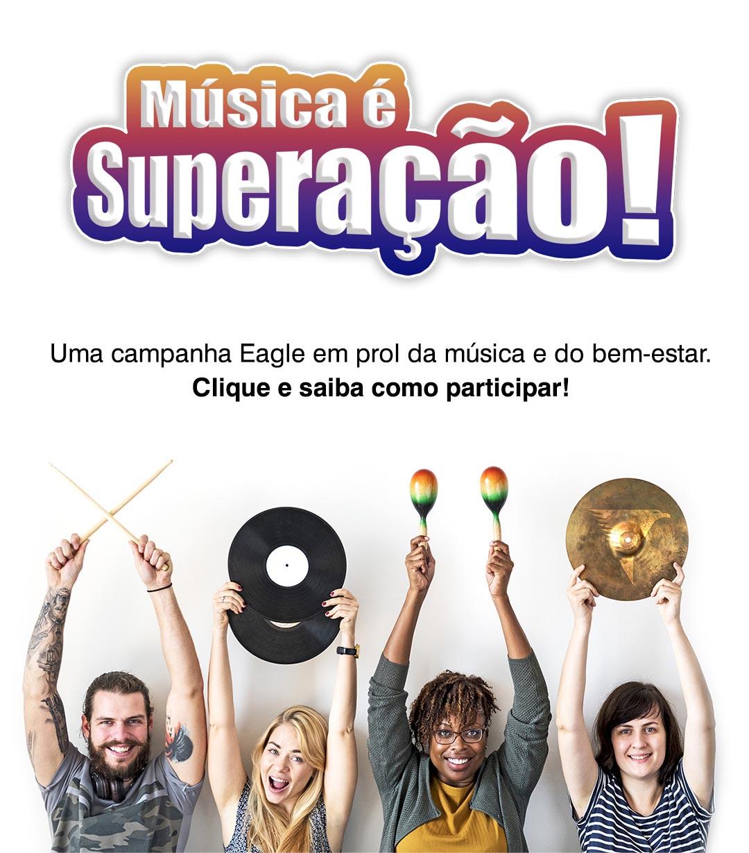 Campanha Música é Superação