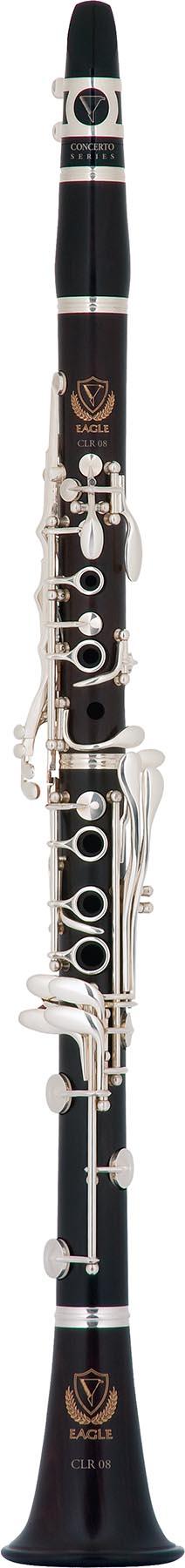 clr08 clarinete madeira rosewood jacaranda eagle clr08 vertical