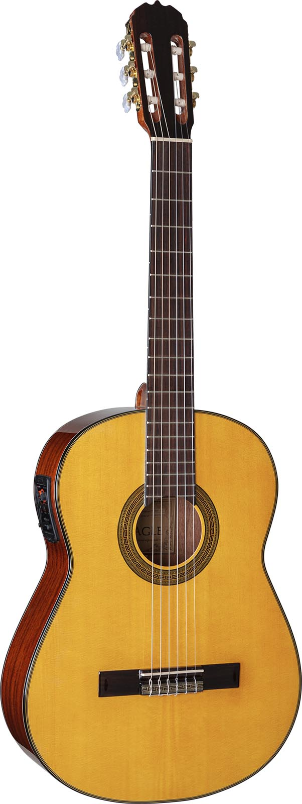 dh69t violao classico eagle pro series dh69t nt natural visao frontal mobile