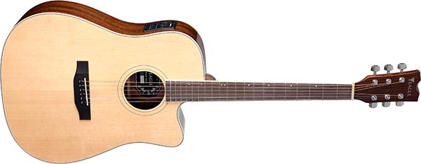emd370ce violao folk dreadnought tampo solido eagle emd370ce nt natural 600