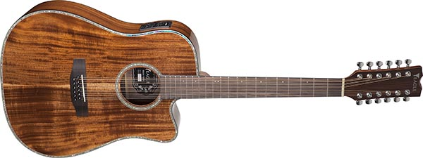 emd430ce12 violao 12 cordas folk dreadnought tampo solido eagle emd430ce12 nt natural 600
