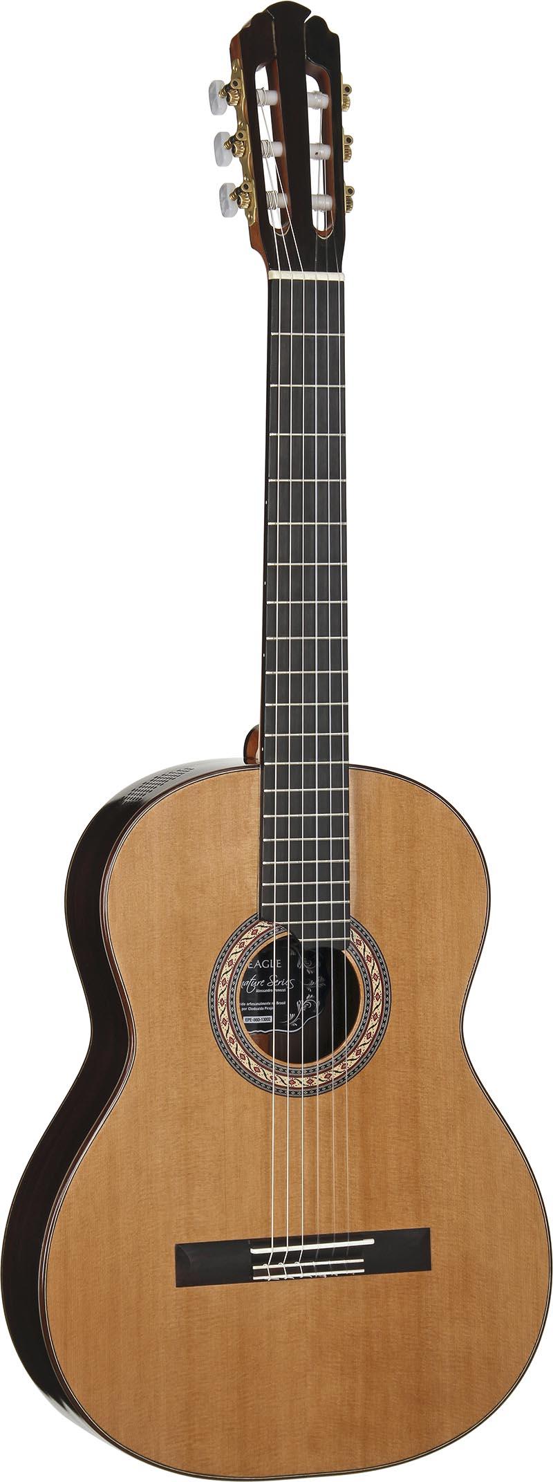 epe860 violao classico luthier eagle alessandro penezzi epe860 visao frontal vertical