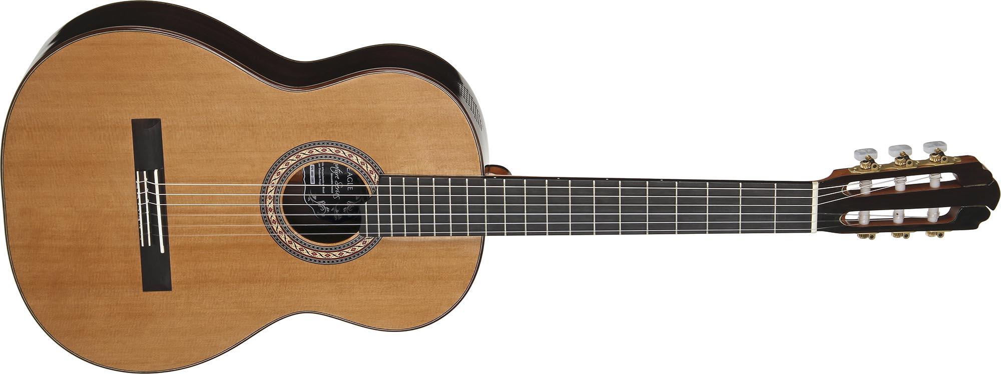 epe860 violao classico luthier eagle signature series alessandro penezzi epe860 visao frontal