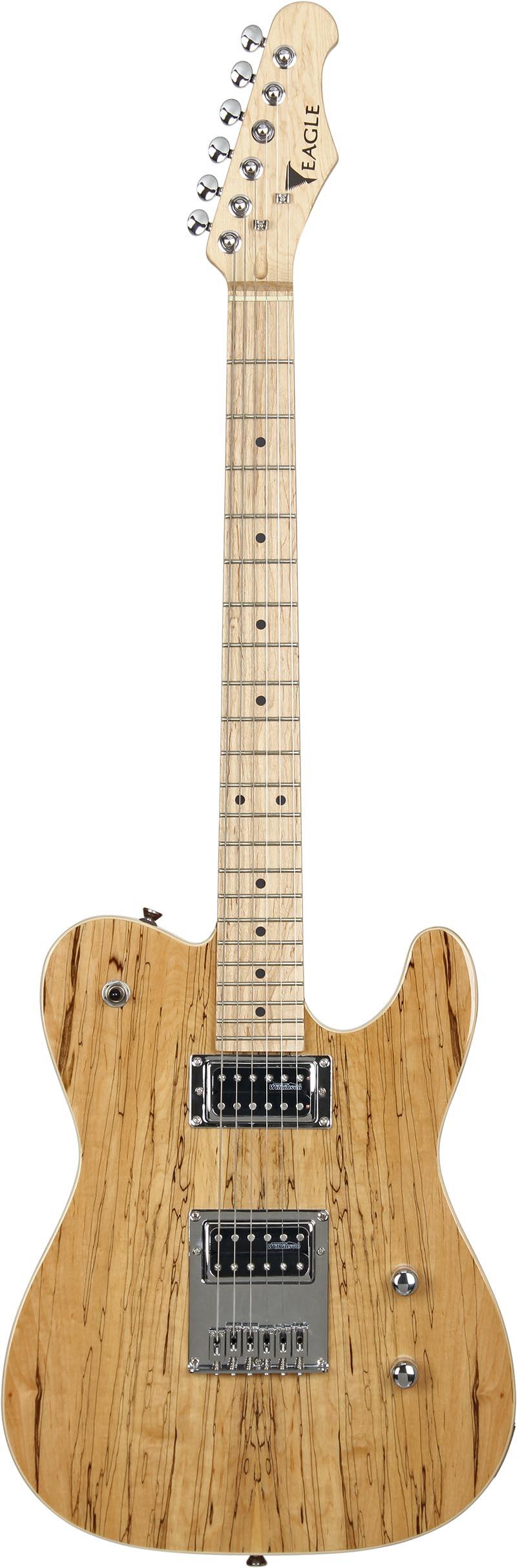 etl003 guitarra telecaster captador humbucker eagle etl003 visao frontal vertical