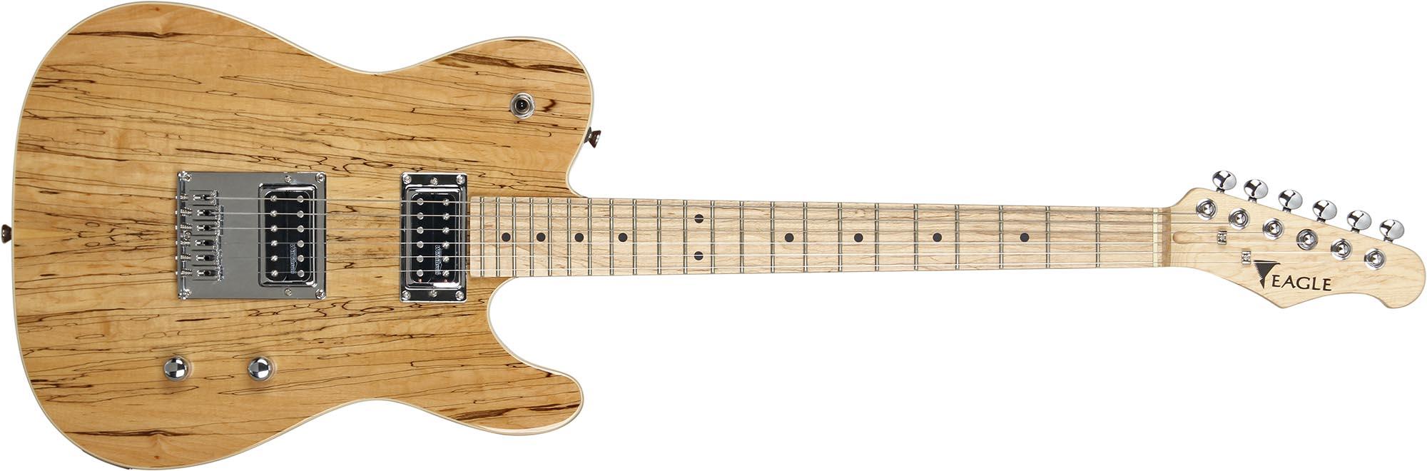 etl003 guitarra telecaster captador humbucker eagle etl003 visao frontal