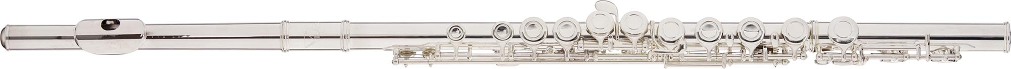 fl03s flauta transversal em do eagle fl03s prateada