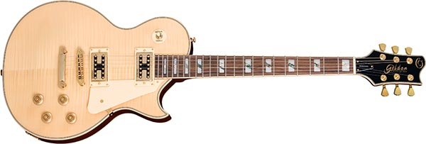 ggs500g guitarra eletrica les paul tampo maple golden ggs500g nt natural 600