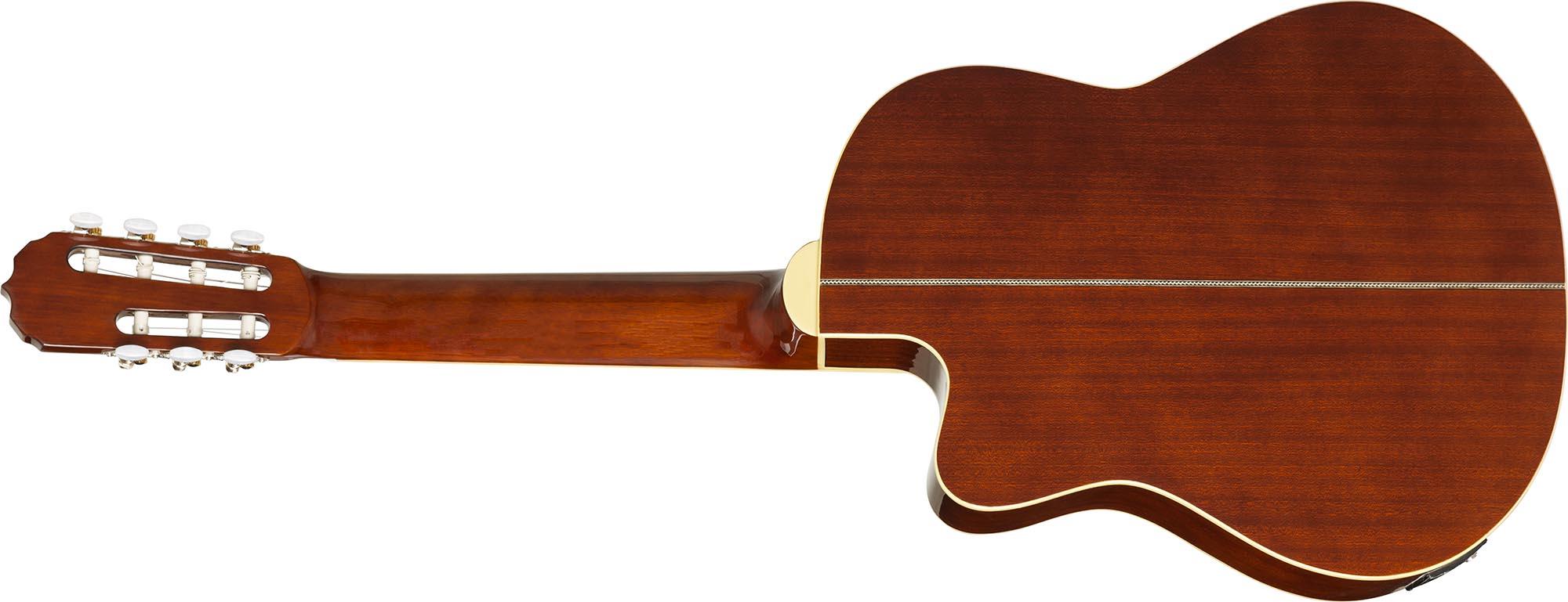 hmc227 violao classico 7 cordas hofma hmc227 nt natural visao posterior