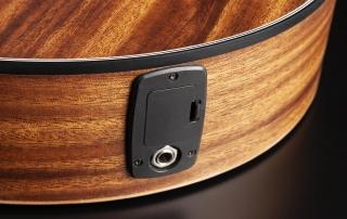 hmn288 violao mini jumbo flat cordas nailon hofma hmn288 stnt natural acetinado detalhe 04