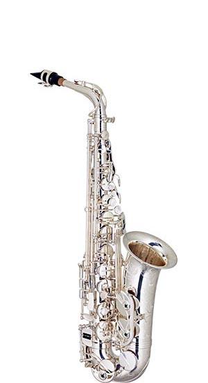 sax510s saxofone alto bronze eagle master series sax510s banhado prata lista