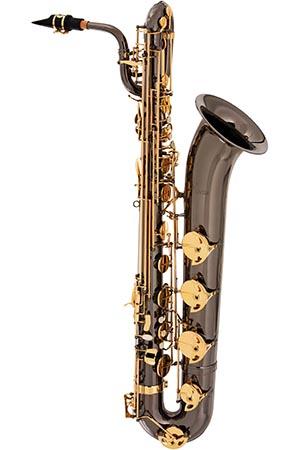 sb506 saxofone baritono eagle sb506 bg black onix preto 450