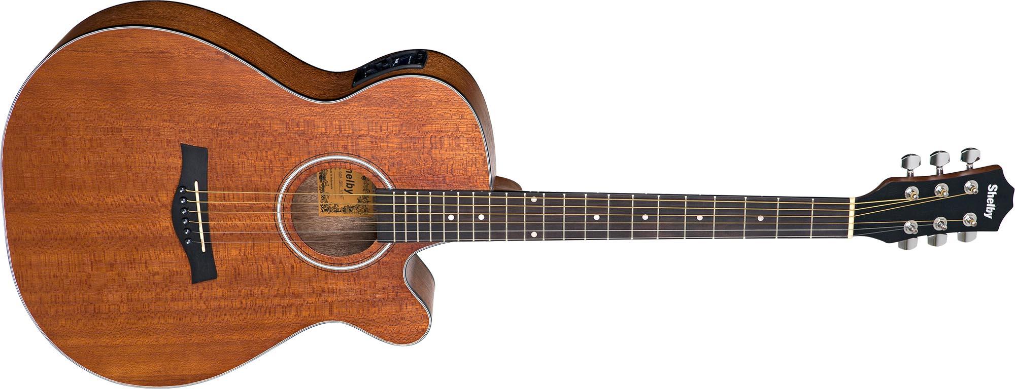 sga196c violao folk auditorium shelby sga196c stnt natural acetinado visao frontal