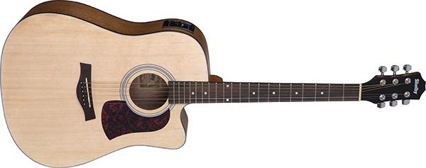 sgd193c violao folk dreadnought shelby sgd193c stnt natural acetinado 600