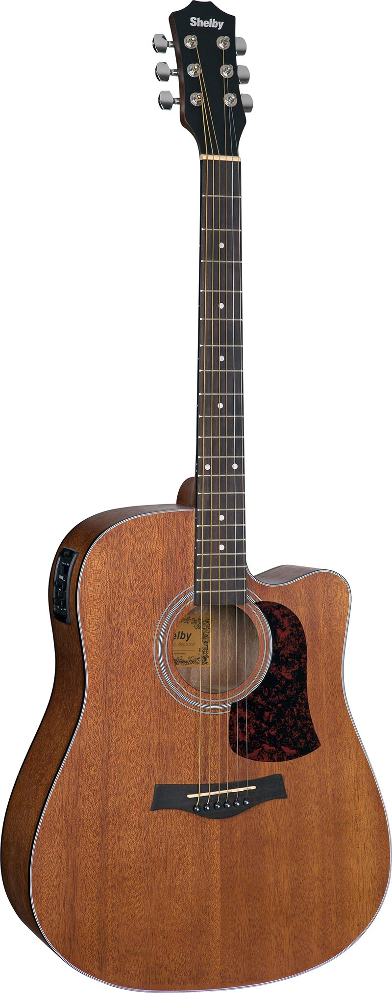 sgd195c violao folk dreadnought shelby sgd195c stnt natural acetinado visao frontal vertical