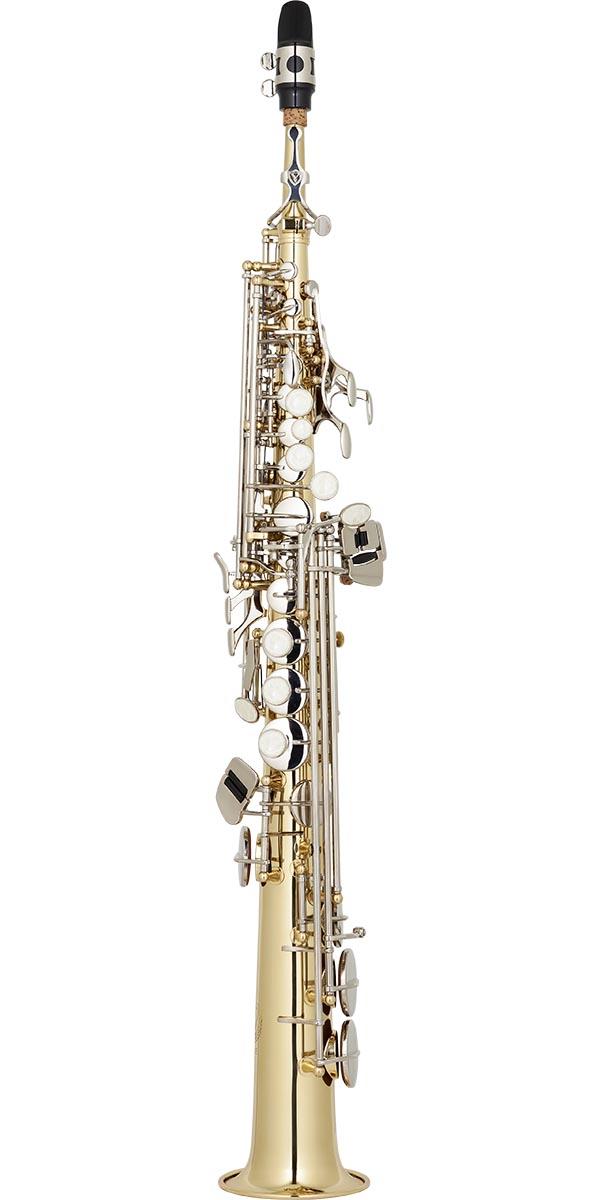 sp502 saxofone soprano reto eagle classic series sp502 ln laqueado dourado chaves niqueladas