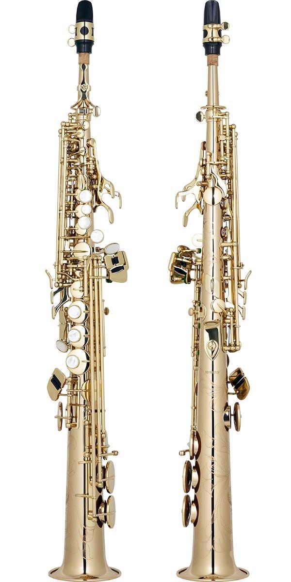 spx512 saxofone soprano reto bronze eagle master series sps512 laqueado