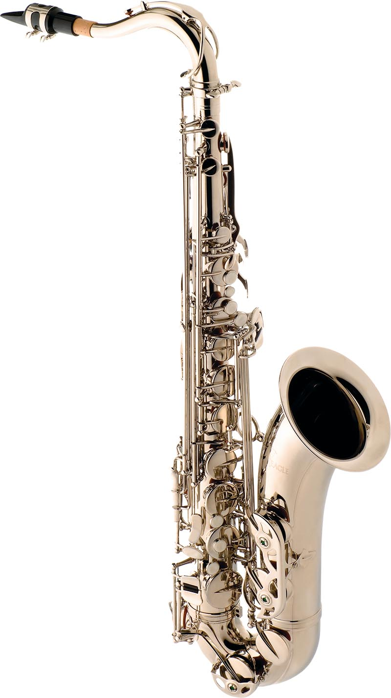 st503 saxofone tenor eagle st503 n niquelado
