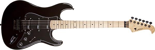 stm771 guitarra eletrica stratocaster eagle floyd rose stm771 bk preta 600