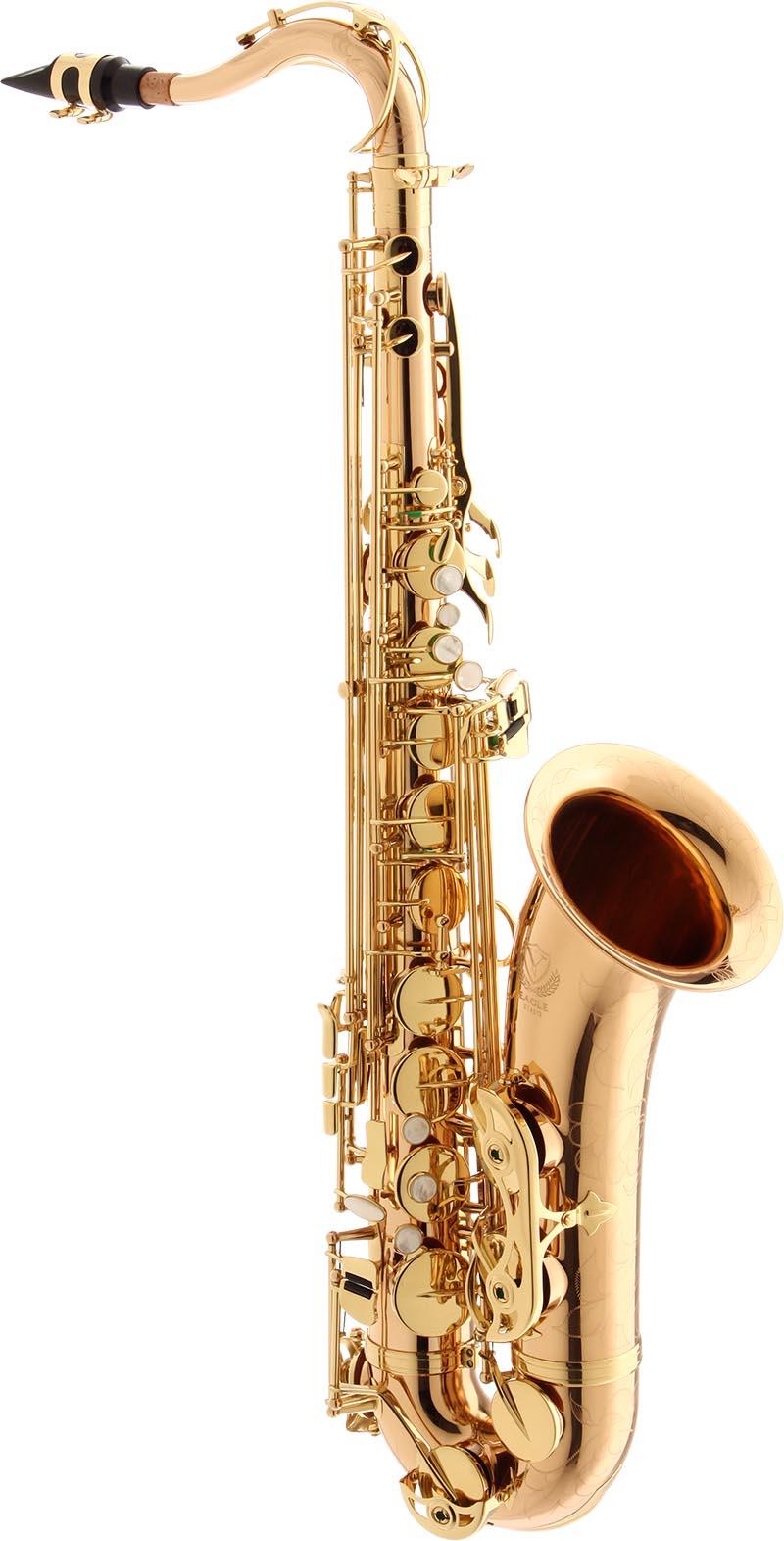 stx513 saxofone tenor de bronze eagle stx513 laqueado