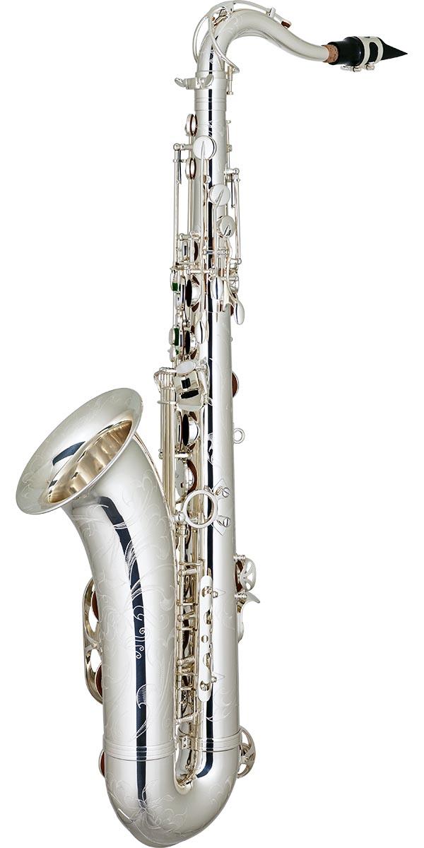 stx513s saxofone tenor bronze eagle master series stx513s banhado prata posterior