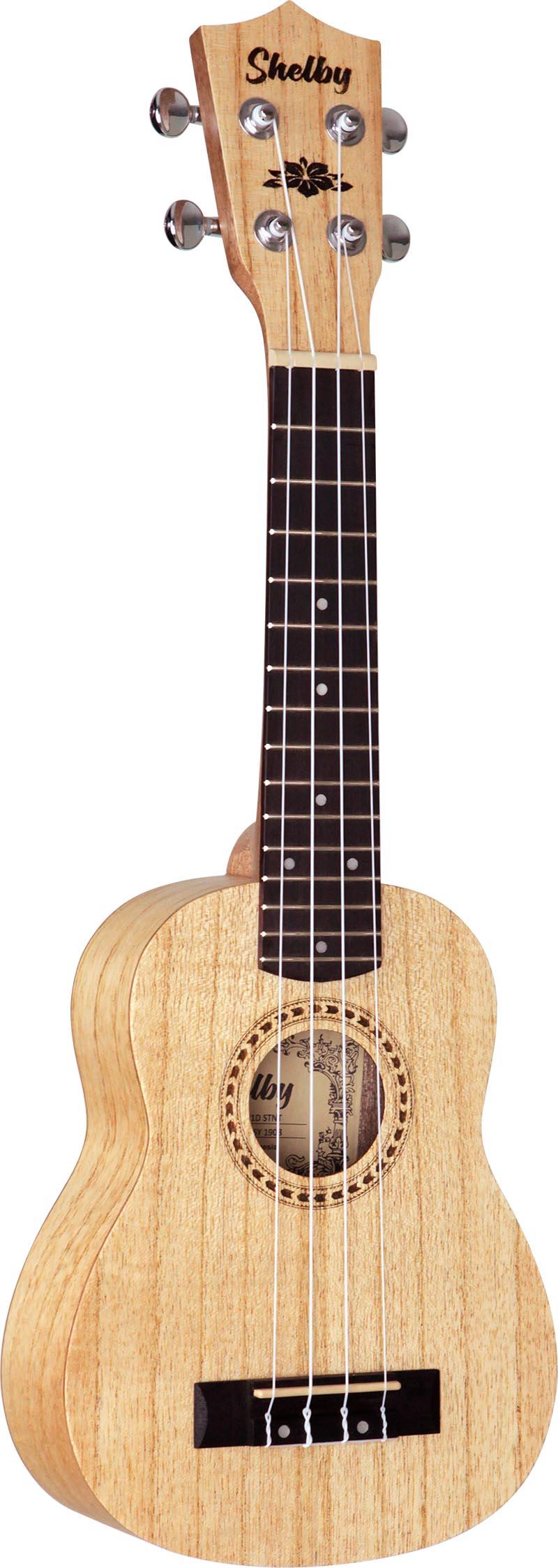 su21d ukulele soprano shelby su21d stnt cedro branco acetinado visao frontal vertical