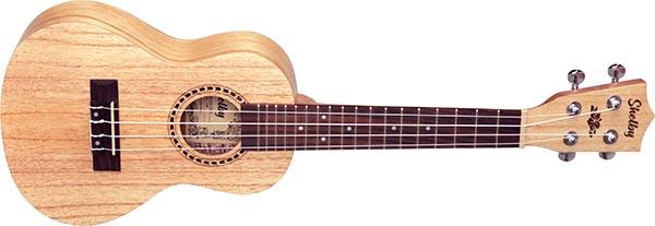 su23d ukulele concerto shelby su23d stnt cedro branco acetinado 600