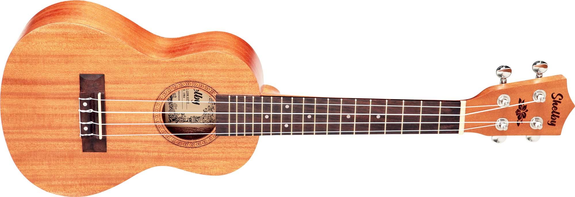 su23m ukulele concerto shelby su23m stnt mogno acetinado visao frontal