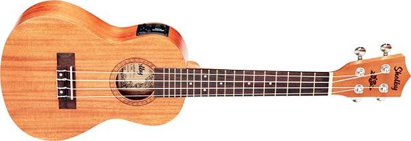 su23me ukulele concerto eletroacustico shelby su23me stnt mogno acetinado visao frontal 600