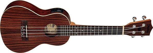 su23re ukulele concerto eletroacustico shelby su23re stnt jacaranda acetinado 600