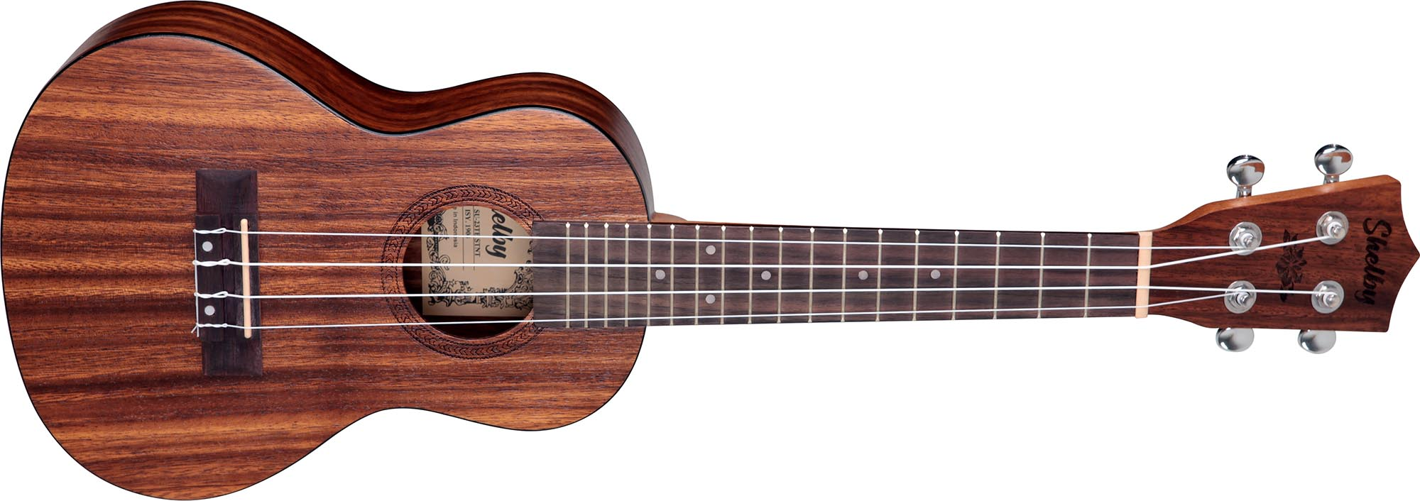 su23t ukulele concerto shelby su23t stnt teca acetinado visao frontal