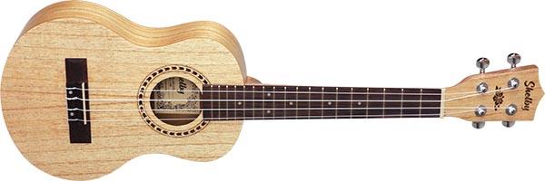su25d ukulele tenor shelby su25d stnt cedro branco acetinado visao frontal listagem