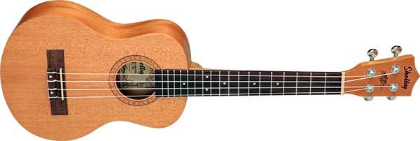 su25m ukulele tenor shelby su25m stnt mogno acetinado visao frontal 600