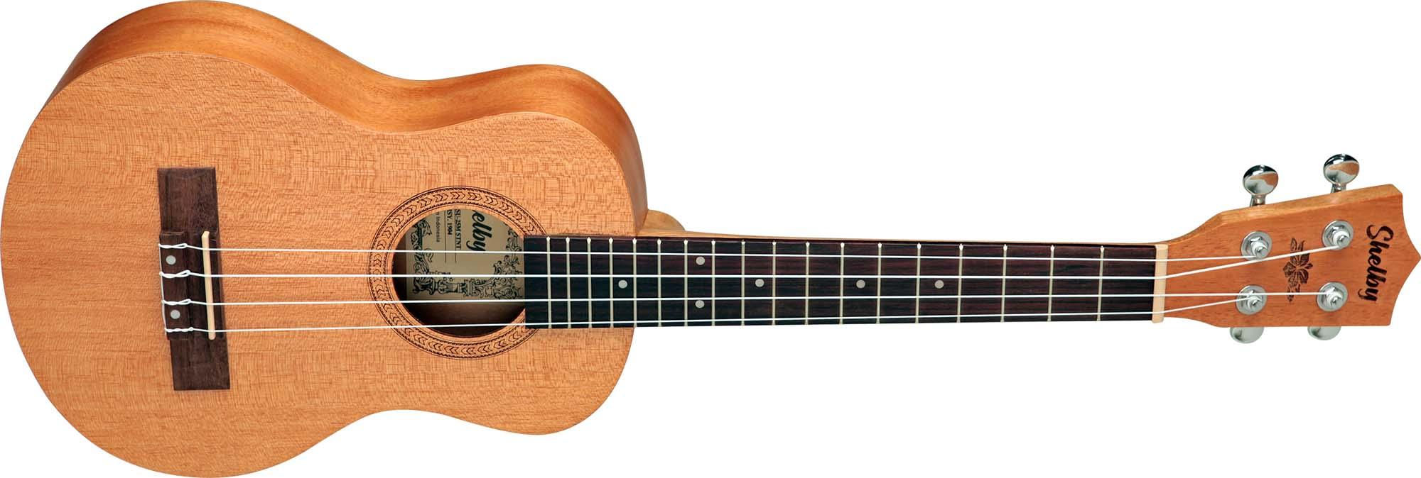 su25m ukulele tenor shelby su25m stnt mogno acetinado visao frontal