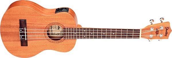 su25me ukulele tenor eletroacustico shelby su25me stnt mogno acetinado visao frontal 600