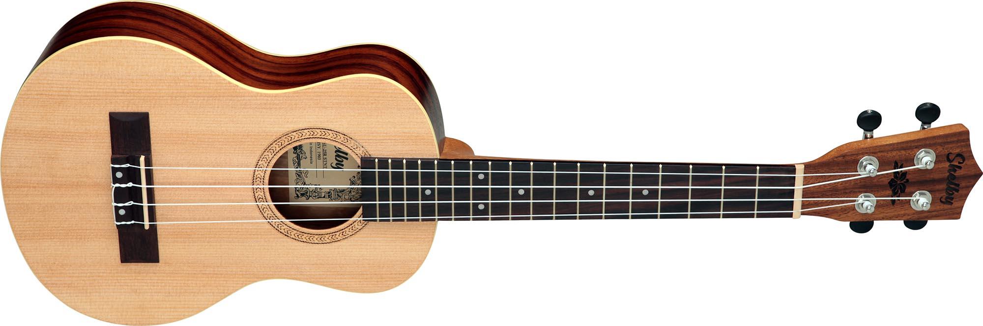 su25r ukulele tenor shelby su25r stnt jacaranda acetinado visao frontal