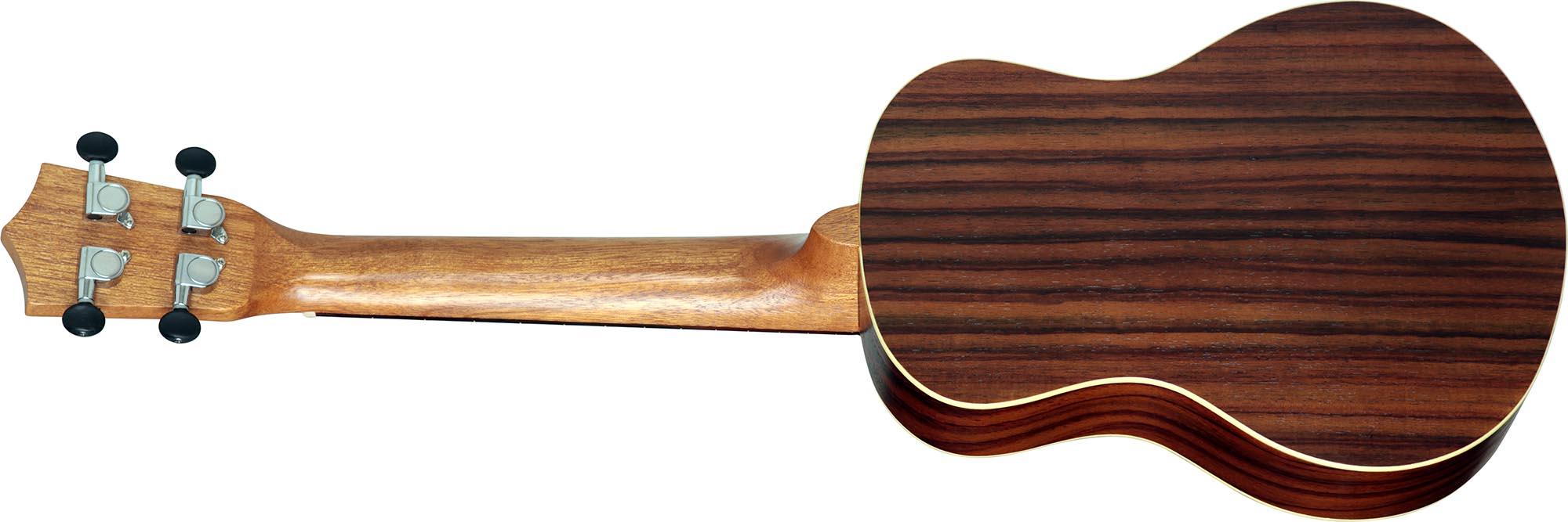 su25re ukulele tenor eletroacustico shelby su25re stnt jacaranda acetinado visao posterior