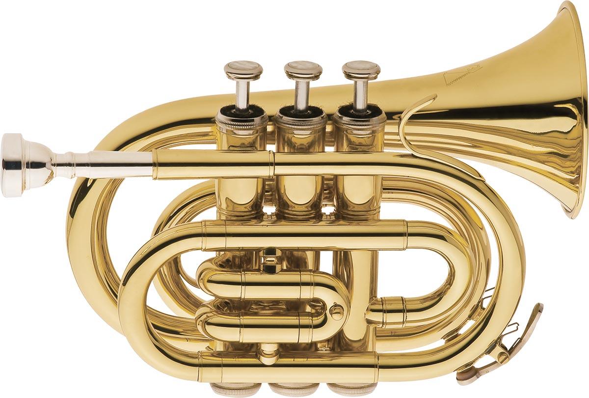 tp520 trompete pocket eagle tp520 laqueado