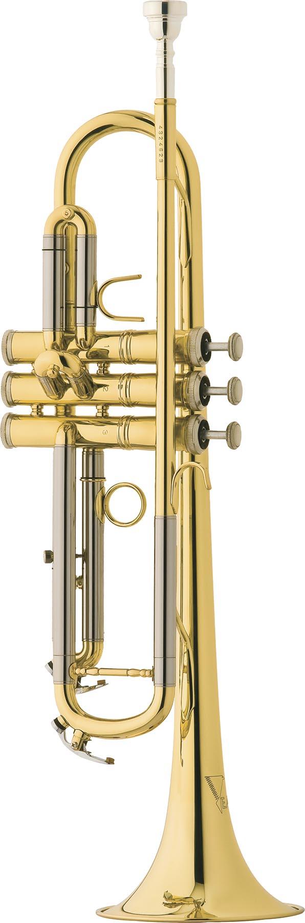 tr504 trompete 3 pistos eagle tr504 laqueado vertical