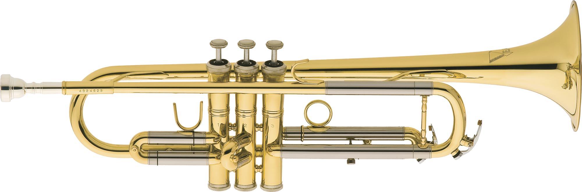 tr504 trompete 3 pistos eagle tr504 laqueado