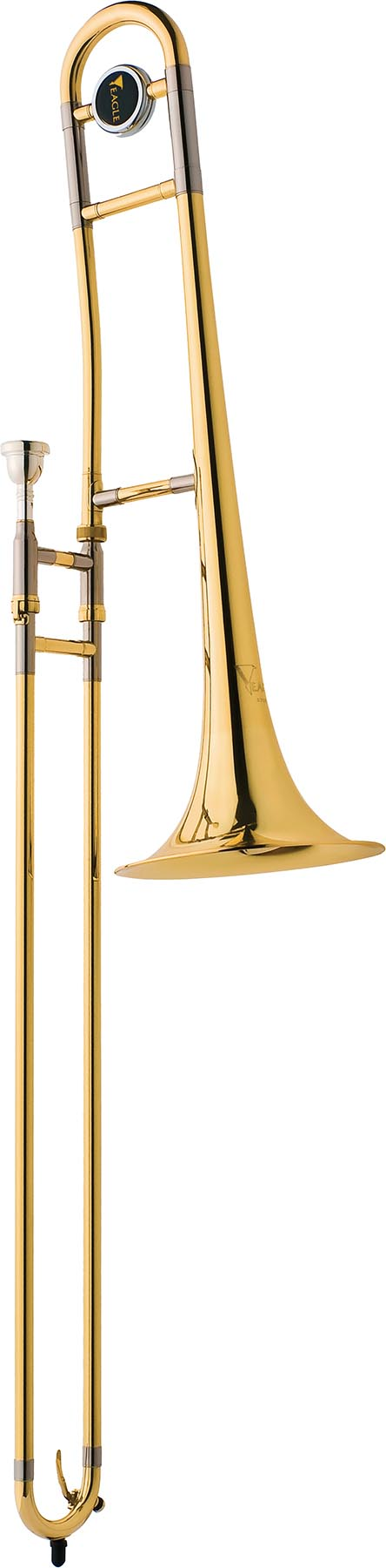 tv600 trombone de vara eagle tv600 laqueado vertical