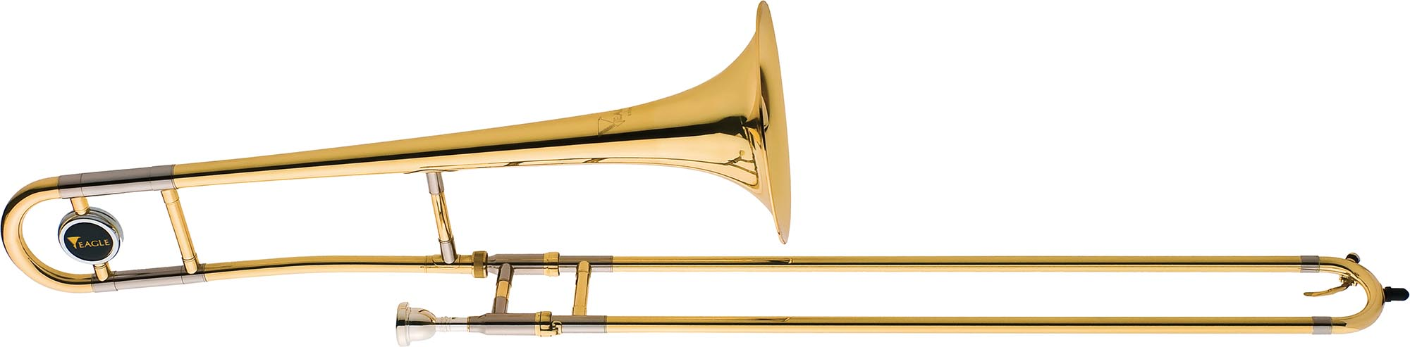 tv600 trombone de vara eagle tv600 laqueado