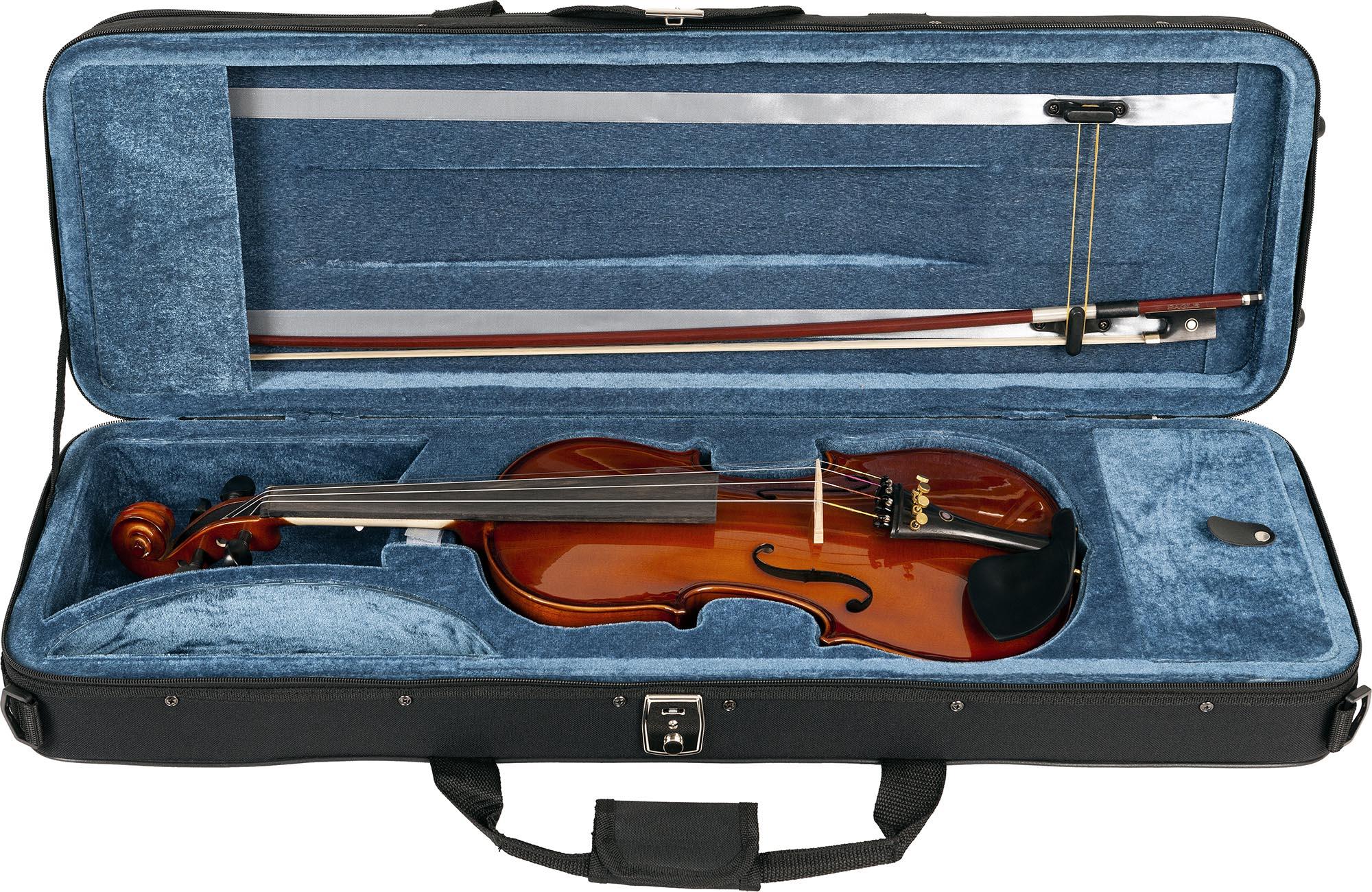 ve144 violino eagle ve144 estojo aberto