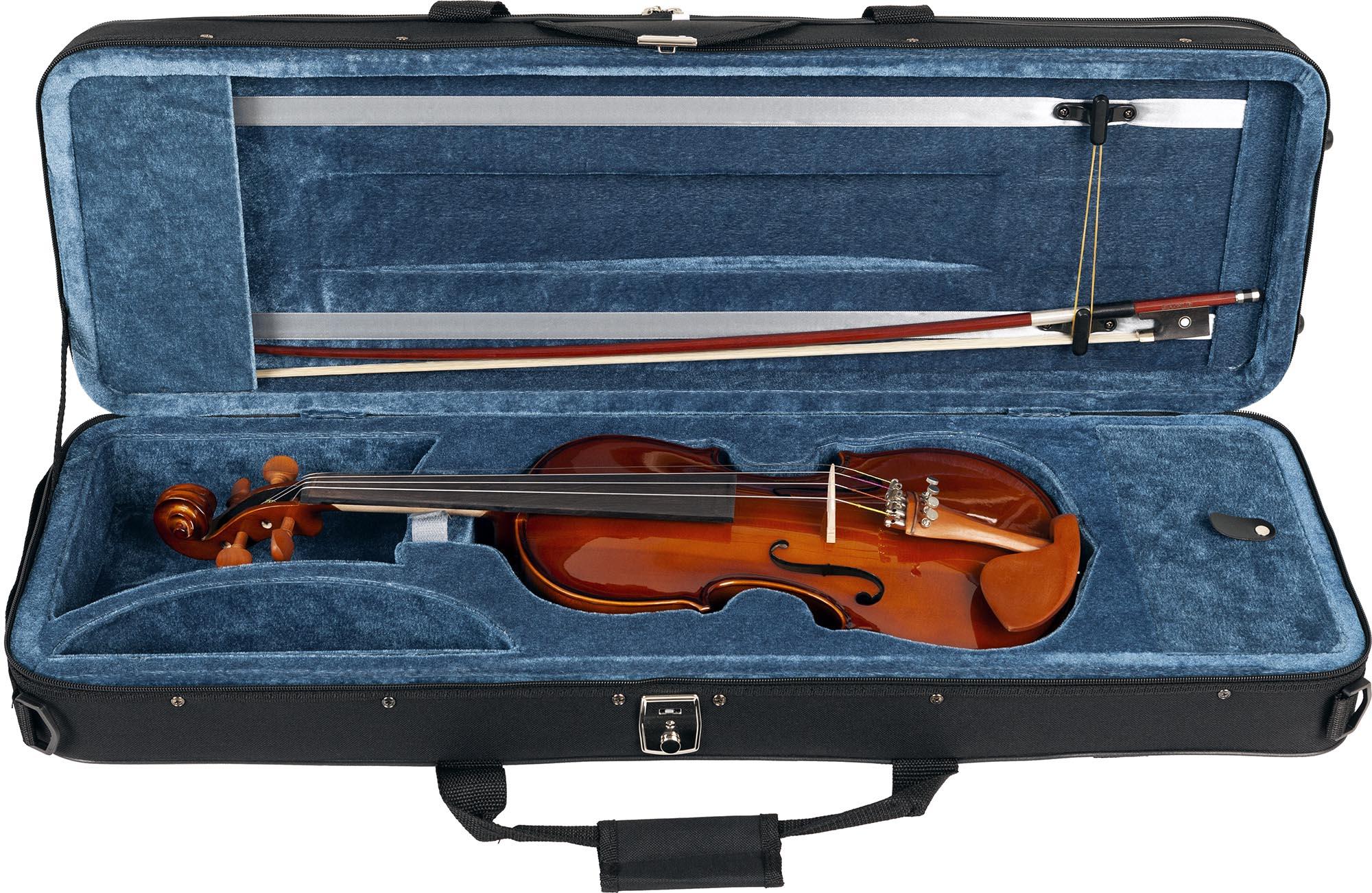 ve431 violino eagle ve431 estojo aberto