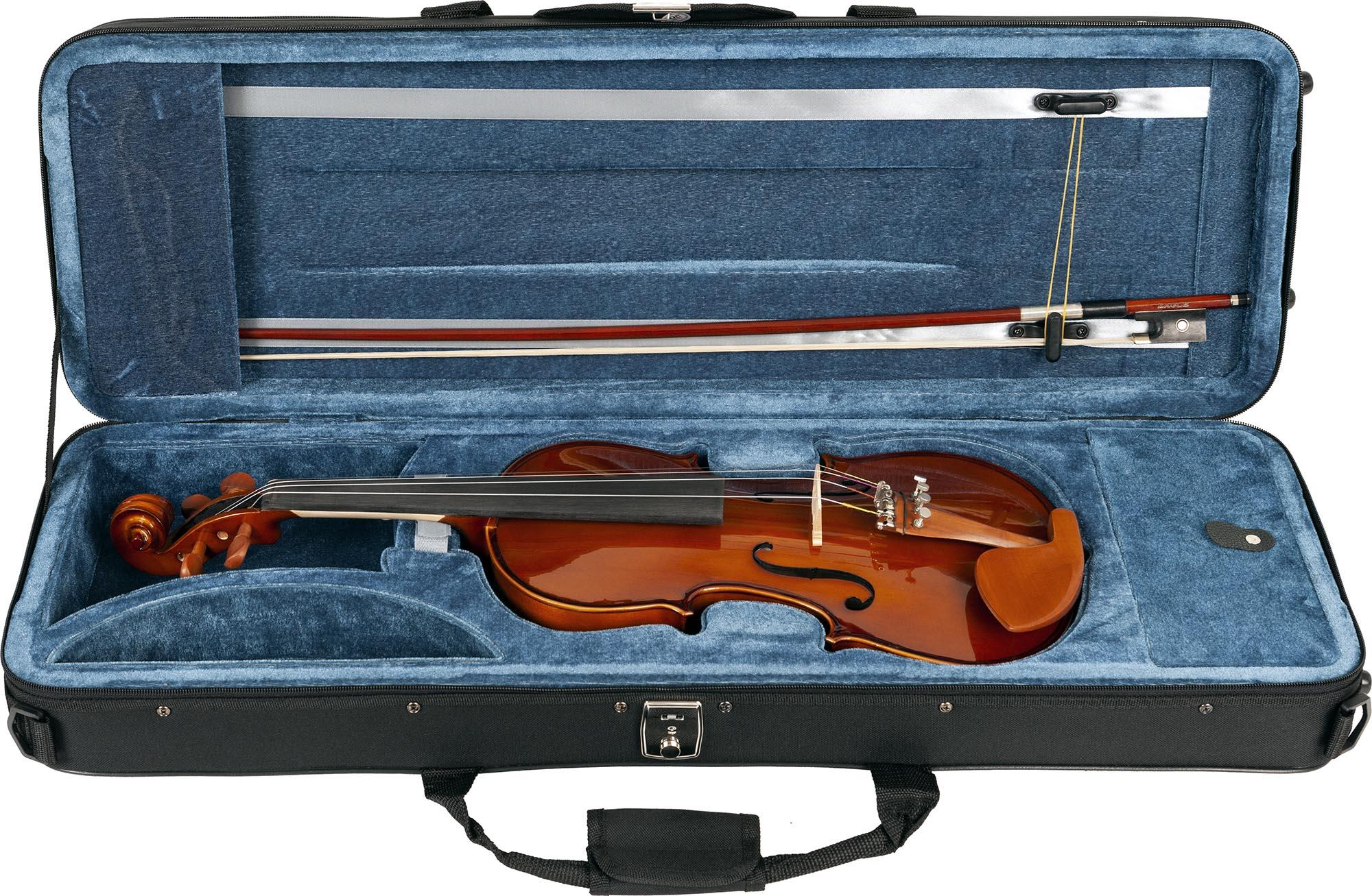 ve441 violino eagle ve441 estojo aberto