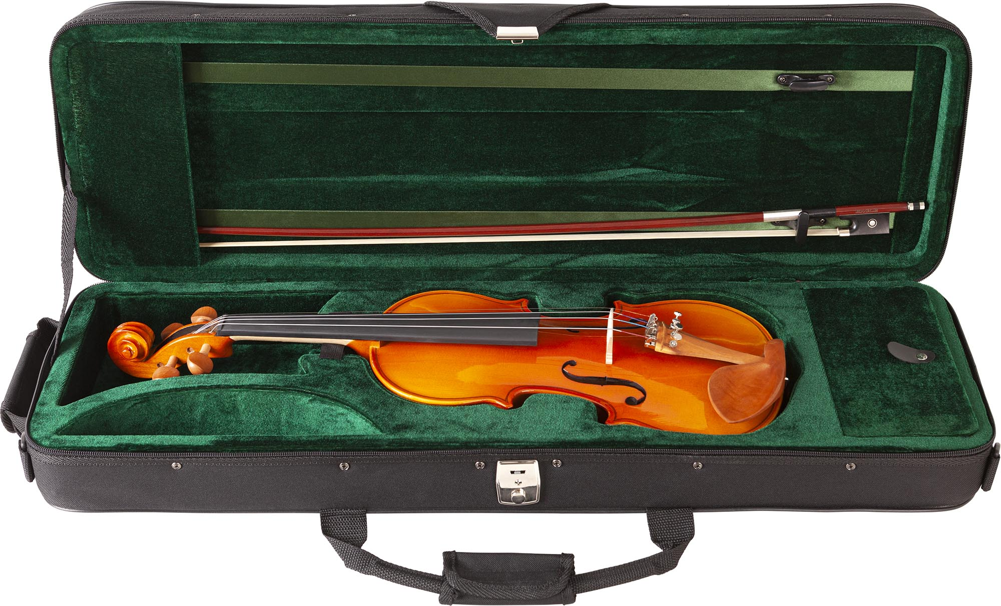 ve443 violino eagle ve443 estojo aberto