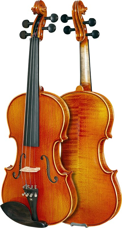 violino eagle classic series ve145 frente verso