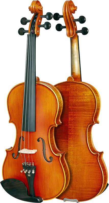 violino eagle classic series ve245 frente verso