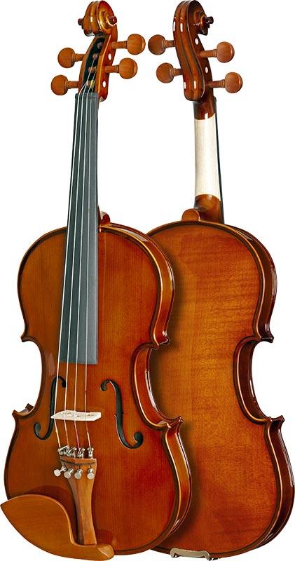 violino eagle classic series ve441 frente verso