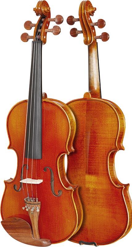 violino eagle classic series ve445 frente verso